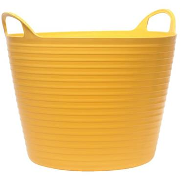 Faithfull Flex Tub Yellow 42L