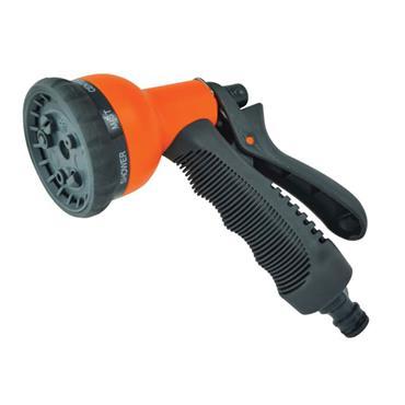 Faithfull Plastic 8 Pattern Adjustable Spray Gun