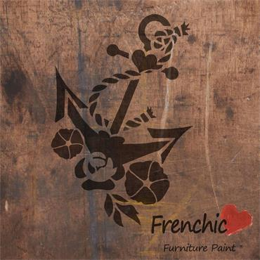 FRENCHIC ANCHORS AWEIGH STENCIL