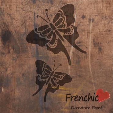 Frenchic Butterflies Stencil