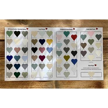 Frenchic Colour Chart 2020