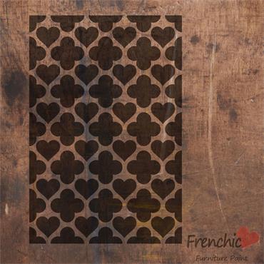 Frenchic Hearts Of Morocco Stencil