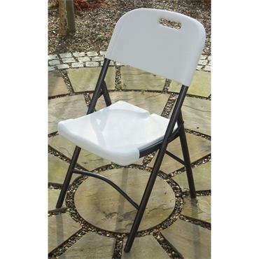 ABS Folding Chair White