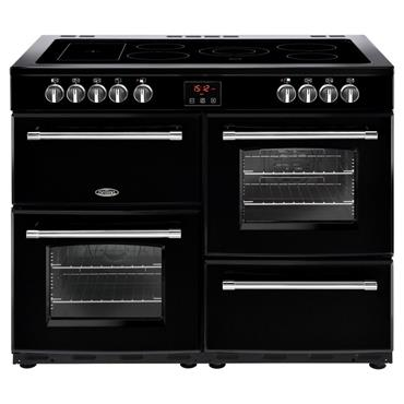 Belling Farmhouse 110cm All Electric Cooker Black