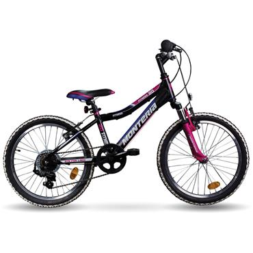 "Monteria 20"""" Girls Bike  White / Pink / Blue"