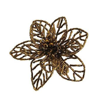 Fern Napkin Ring Gold (Set of 2)