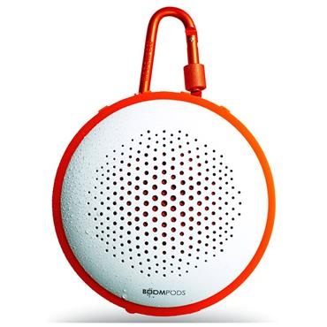 Boompods Fusion Pairing Bluetooth Speaker White / Orange
