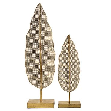 Leaf Sculpture (Set Of 2)