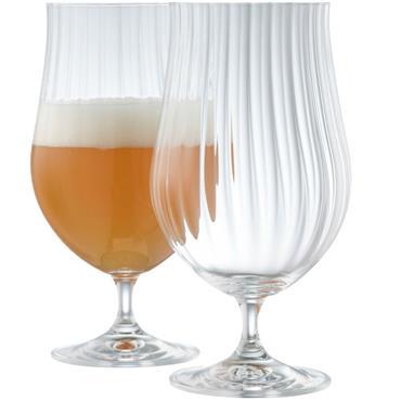 Belleek Erne Craft Beer / Cocktail Glasses 2pk