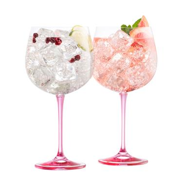 Belleek Gin & Tonic Pink 2pk