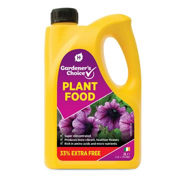 Hygeia Gardeners Choice Plant Food 2L