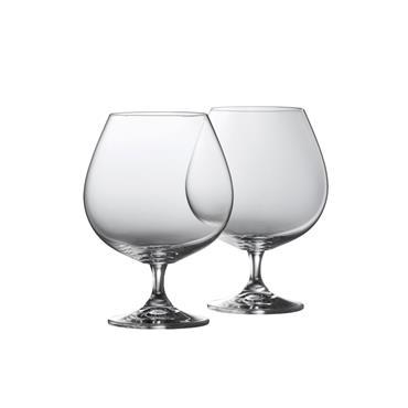 Belleek Elegance Brandy Baloon Glasses 2pk