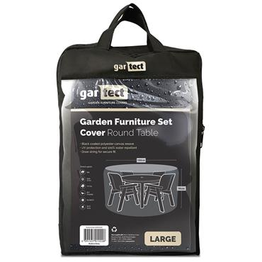 Gartect Round Table Garden Furniture Set Cover Large