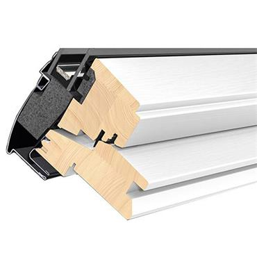 Velux Centre Pivot Roof Window White Painted 55x78