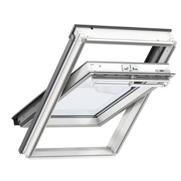 Velux Centre Pivot Roof Window White Painted 78x98