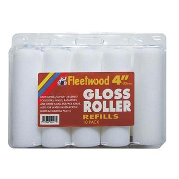"""Fleetwood 4"""" Gloss Roller Refills 10pk"""