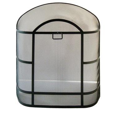 De Vielle Premium Heavy Duty Dome Spark Guard Black