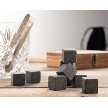 Belleek Whiskey Stones Set