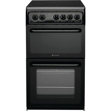 Hotpoint 50cm Electric Twin Cavity Cooker