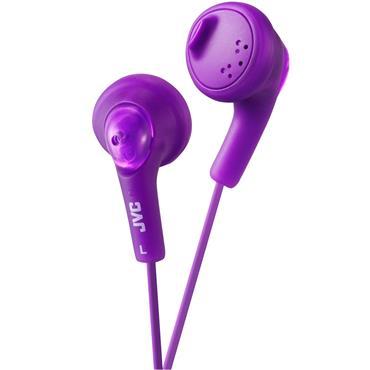 JVC Gumy In-Ear Headphones Violet