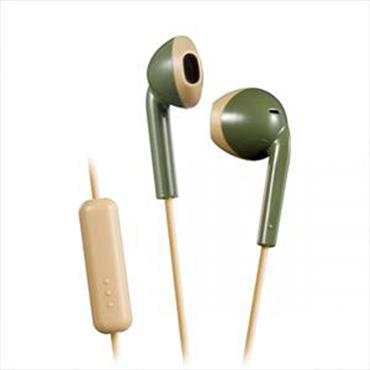 Jvc Khaki Beige Wired Retro In Ear Headphones