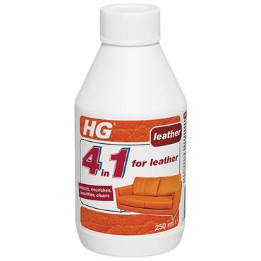 HG 4 In 1 For Leather 250ml