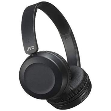 JVC Black On Ear Bluetooth Headphones