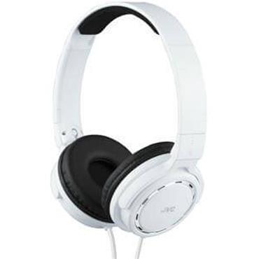 JVC On-Ear Ring Port Headphone White