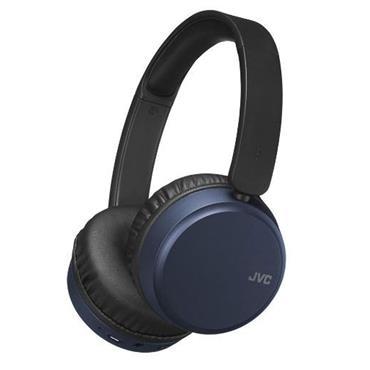 JVC Noise Cancel Bluetooth Headphones Blue