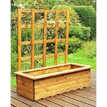 Kensington Large Trellis Planter
