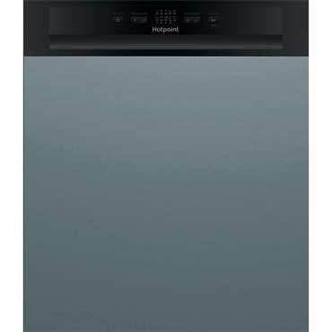 Hotpoint Semi Integrated Dishwasher 13-Place Black