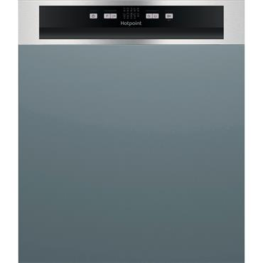 Hotpoint Semi Integrated Dishwasher 13-Place Stainless Steel