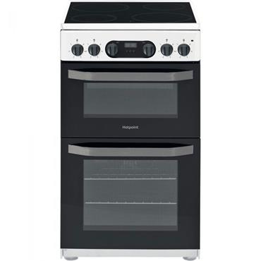 Hotpoint Free Standing 50cm White Electric Cooker
