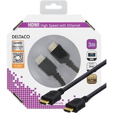 Deltaco HDMI Cable 3m