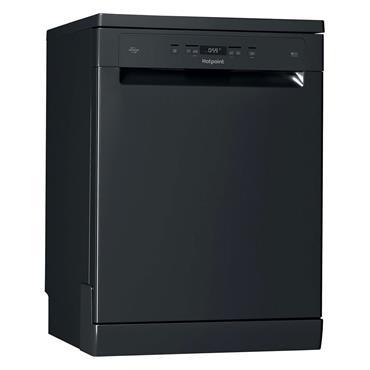 Hotpoint Dishwasher 14 Place Settings 7 Programmes Black