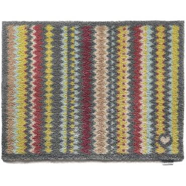 Hug Rug Designer Coloured Zigzag 65x85