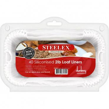 Steelex 2lb Loaf Liners