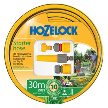 Hozelock Starter Hose Starter Set 30m 12.5mm