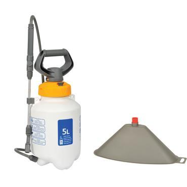 Hozelock 5L Sprayer & Free Weedkiller Cone