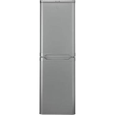 Indesit 55cm Silver 50/50 Fridge Freezer