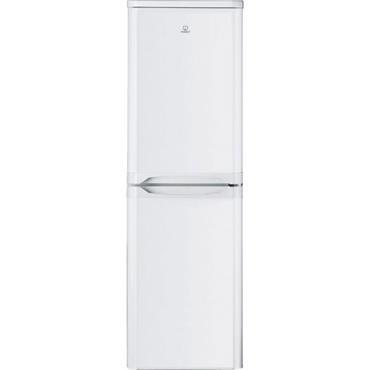 Indesit 55cm White 50/50 Freestanding Fridge Freezer