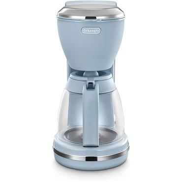 Delonghi Argento Flora Blue Filter Coffee Machine