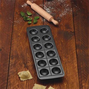 KitchenCraft World Of Flavours Italian Non Stick Ravioli Mould