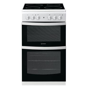 Indesit 50cm Electric Twin Cavity Cooker