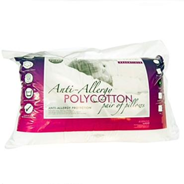 Catherine Lansfield Anti Allergy Pillows Twin Pack