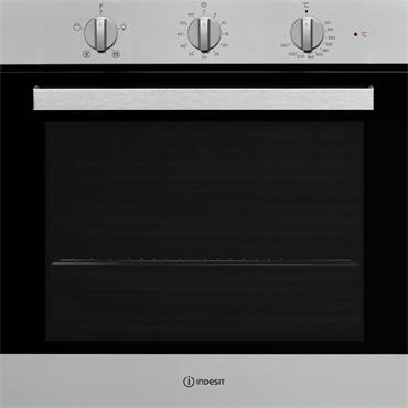 Indesit Single Oven Stainless Steel