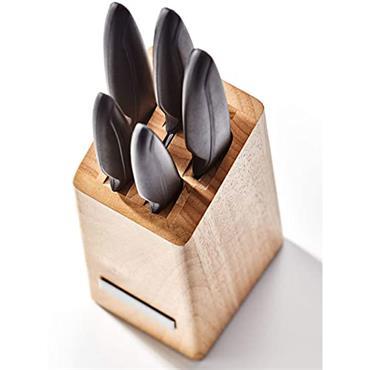 Judge Sabatier Wooden Knife Block Set 5pce