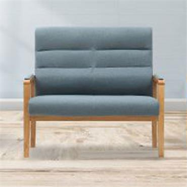 Jack 2 Seater Fireside Chair Blue