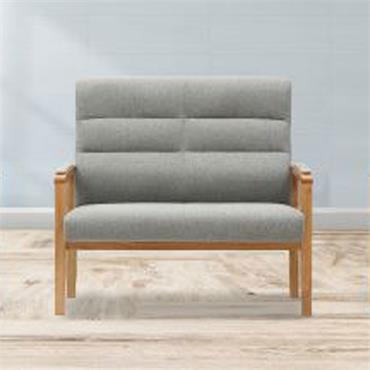 Jack 2 Seater Fireside Chair Grey
