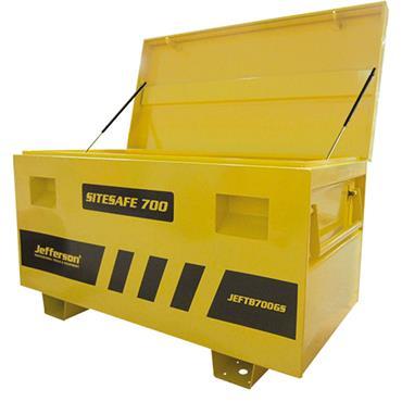 Jefferson Large Truck Box & Gas Struts